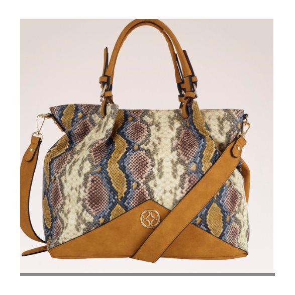 Handväska Orm Gul